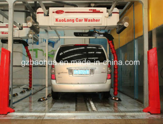 Spin Typical Semi-Automatic Car Wash Machine pictures & photos
