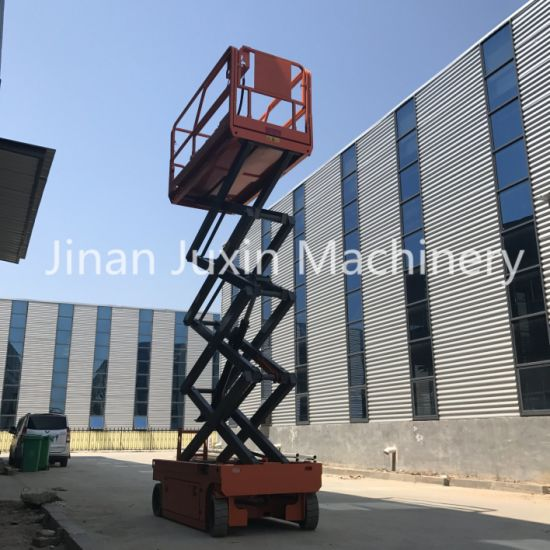 Self Propelled Scissor Lift Hydraulic Trolley Lift