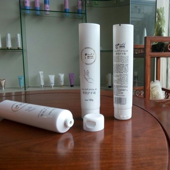Hand Cream Packaging Cosmetic Tube with Flip Top Cap pictures & photos