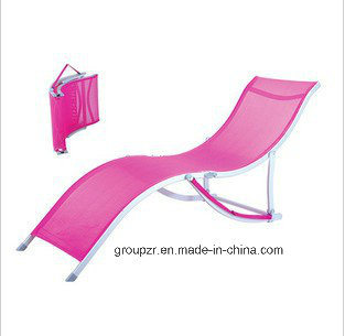 Outdoor Leisure Folding Textilene Sunbed Beach Chair pictures & photos