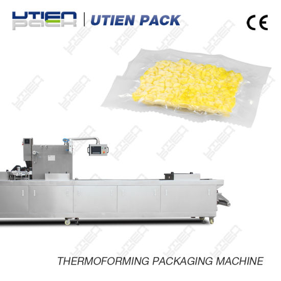 Automatic Corn Kernel Niblet Thermoforming Vacuum Packaging Machine