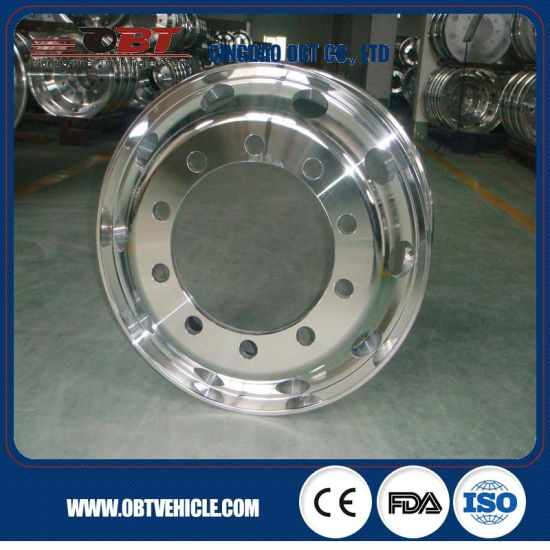 Heavy Truck Alloy Aluminum Wheel Rim 22.5X9.00 for Tyre 12r22.5 pictures & photos