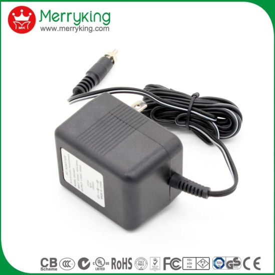 UL Ce, UK Au 12V 500mA, 1000mA Linear Power Adapter