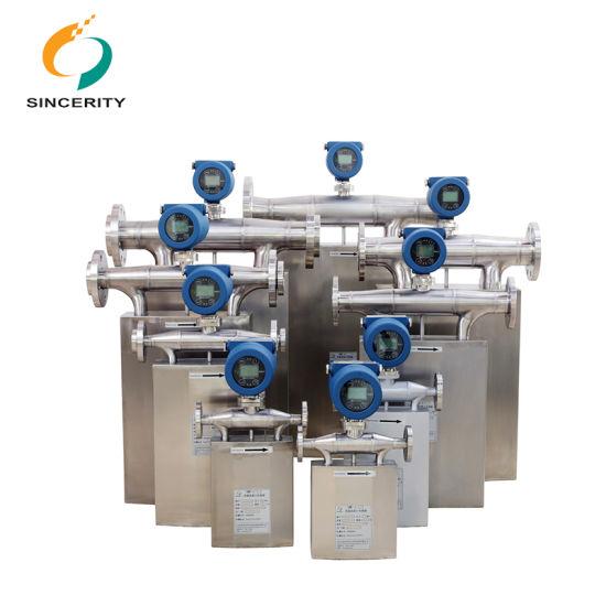 0.1 Precision Grade Factory Direct Sales DMF-1-Series Coriolis Mass Liquid Flow Meter for Crude Paraffin Oil