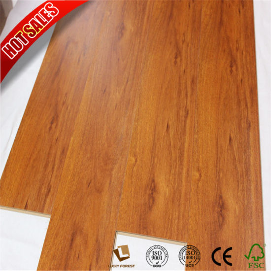 China Premier Embossed Medium Click Plus Laminate Flooring China