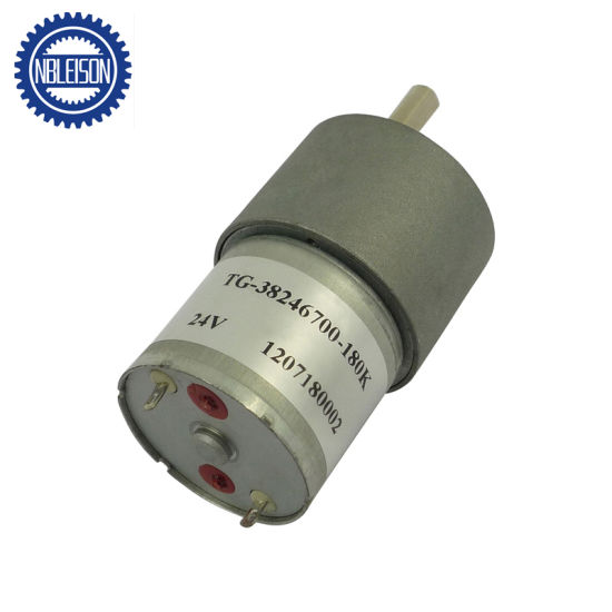 37mm 12V Low Rpm High Torque Micro DC Gear Motor pictures & photos