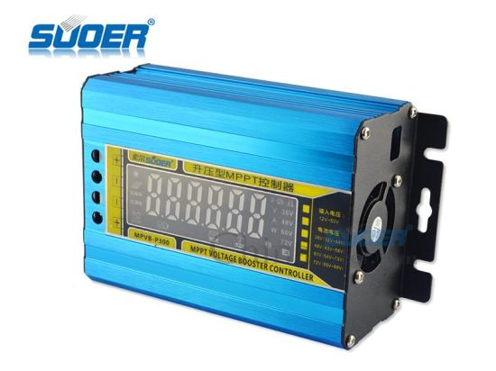 Suoer 12V to 50V Car Solar Charger Built in MPPT Solar Controller (MPVB-P300) pictures & photos