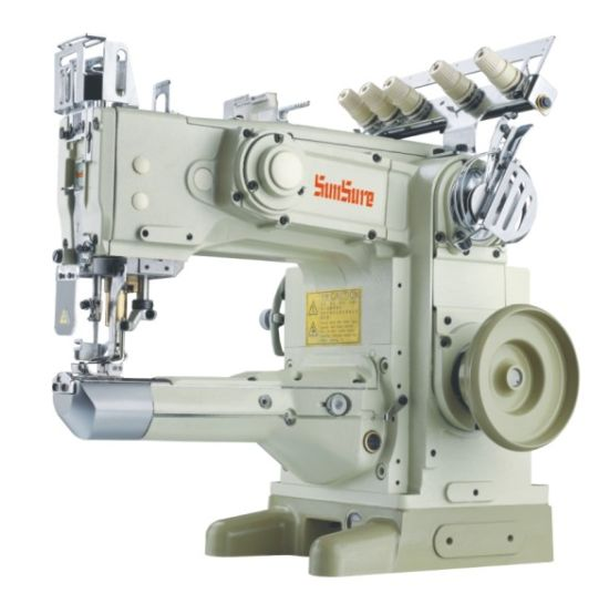 Feed-off-The-Arm Cylinder Bed Flat Seaming Interlock Sewing Machine