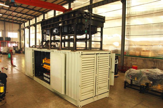 Honny Diesel / Gas Combined Heat and Power Plant CHP pictures & photos