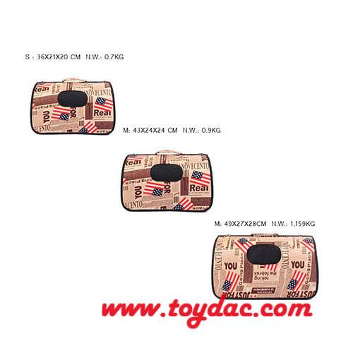 Digital Printed Fashion Pet Carrier Bag
