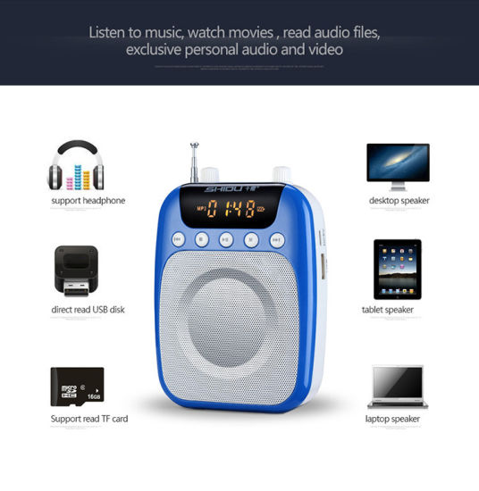 china mini portable fm radio voice amplifier for teachers and tour rh bestdragon en made in china com mini cooper radio user guide mini cooper radio guide