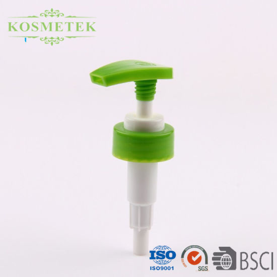 Screw Down PP Plastic Lotion Pump for Cosmetic Packaging with Size 24mm, 28mm