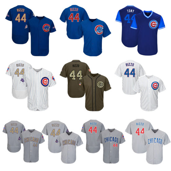 low priced 79806 f6e6d China Men Women Youth Cubs Jerseys 44 Anthony Rizzo Baseball ...
