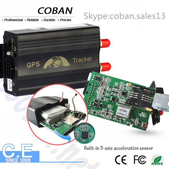 GSM GPS Vehicle Tracker Tk103 Car Alarm Support APP Web Platform Tracking System pictures & photos