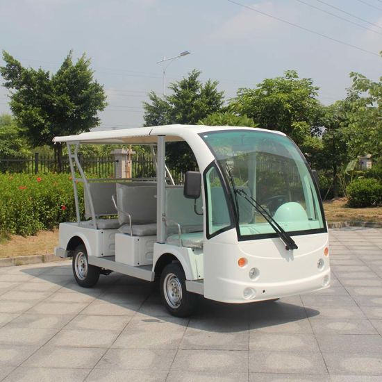 New Energy 8 Passengers Electric Sightseeing Mini Bus (DN-8F)