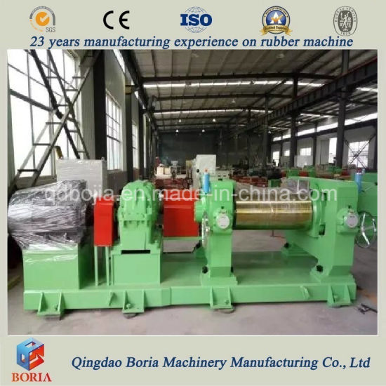 Two Roll Rubber Mixing Machine/Open Mixing Mill pictures & photos