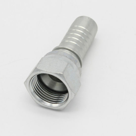 Straight Jic Female 74 Degree Cone Seal Swivel Hose Connector (26711) pictures & photos