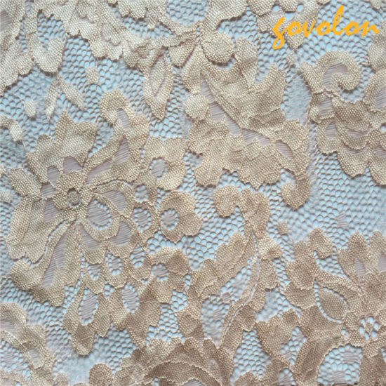 Elastic Nylon Crochet Lace Fabric (SGS Approved)