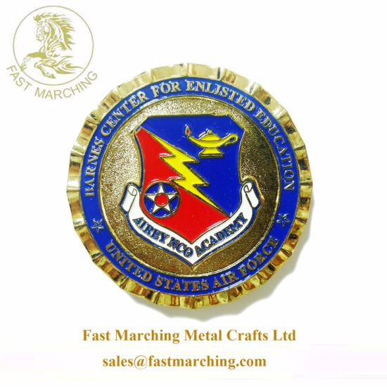 Custom Wholesale Medals School Logo Stamping Metals Used in Coins