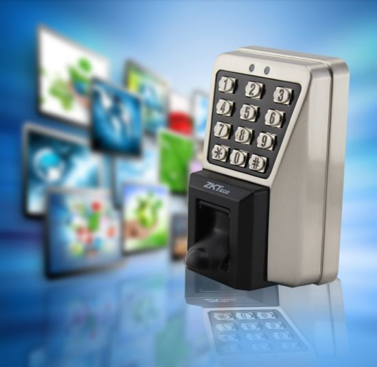 China Zksoftware Biometric Fingerprint Gate Access Control with
