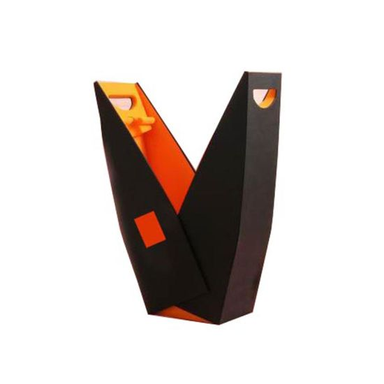 Custom Printed Paper Folding Wine Box Packaging Gift