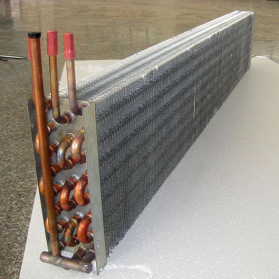 Refrigeration Spare Parts Freezer Copper Tube Aluminium Fin Evaporator Coils