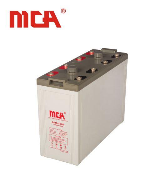 High Quality 2V 1000ah Solar Rechargeable Lead Acid Battery