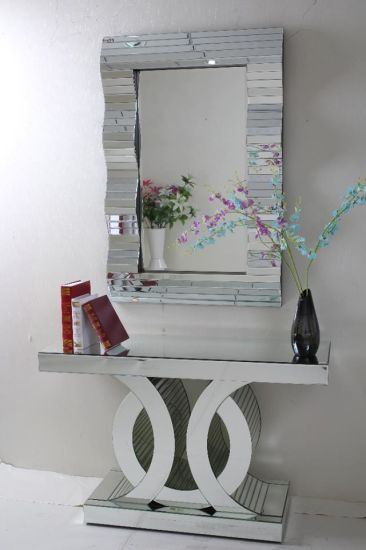 Hot Home Decor Wall Mirror And Console Table Set