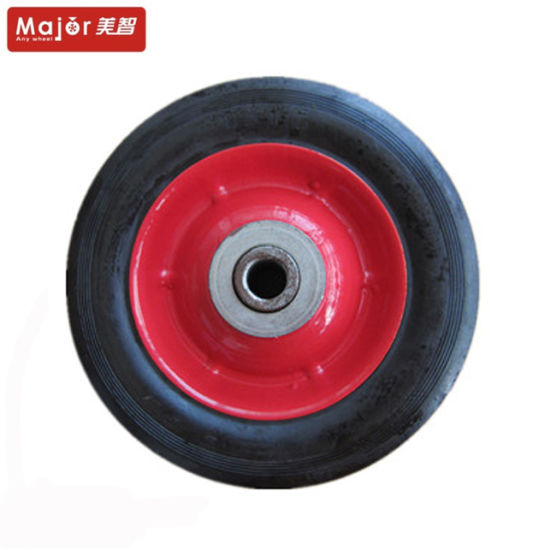 10X3 Srw1013 Wheel Barrow Solid Rubber Wheel pictures & photos