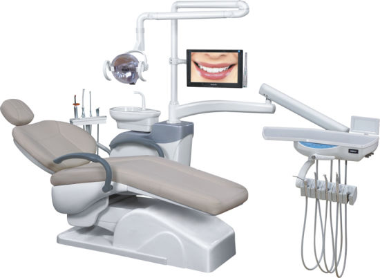 Medical Dental Unit Eletrical Chair With Ce Comfortable For Dentist