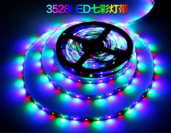 Christmas Light DC12V/24V SMD 3528 Flexible Strip Light RGB Rope Light Holiday Light Decoration Light