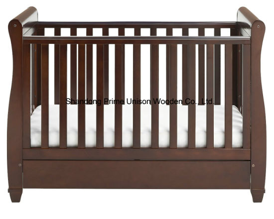 Hot Selling Nice Baby Cot with Drop Side with Drawer