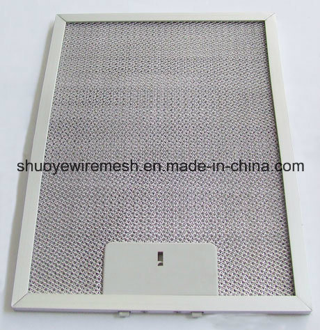Aluminum/Galvanization /Stainless Steel Baffle Grease Filter pictures & photos