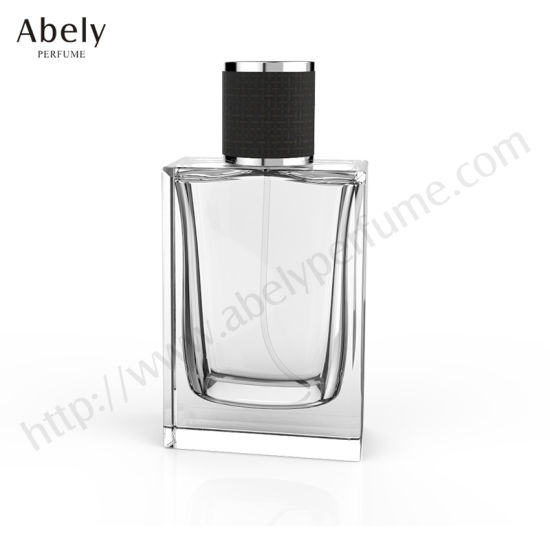 100ml Elegant Top-Rated Glass Perfume Bottle with Sprayer and Cap pictures & photos