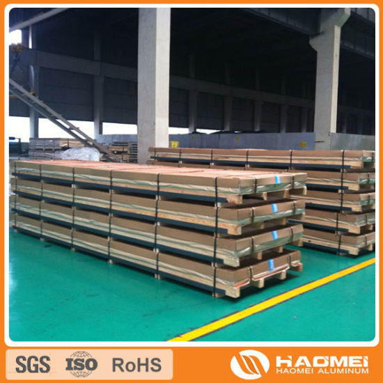 Hot Rolled Aluminium Aluminum Sheet (5052 / 5083 / 6061) pictures & photos