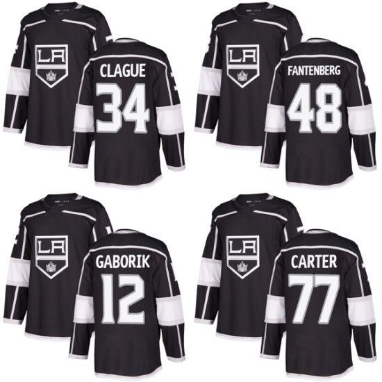 the best attitude 1924d e8a9d Kingsjeff Carter Marian Gaborik Oscar Fantenberg Kale Clague Hockey Jerseys