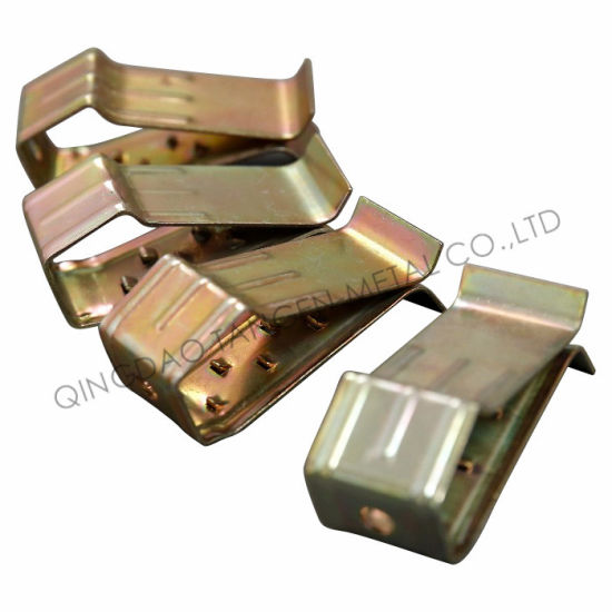 Yellow Zinc Plated Stamping Spring Clip