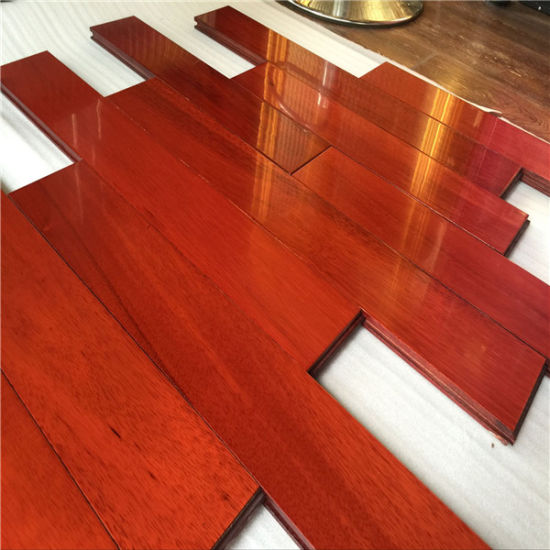 China Factory Price Good Quality Mahogany Color Taun Solid Wood