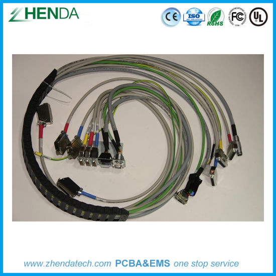 Admirable China Durable Lock Structure Wire Harness Cable Assembly Amp Te Lemo Wiring Database Gramgelartorg