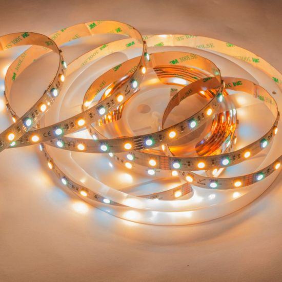 Flexible 60LEDs/M RGBW LED Strip Lighting of SMD5050 with High Lumen