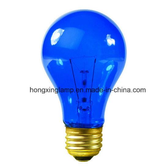 Daylight Blue GLS Incandescent Light Bulb 75W
