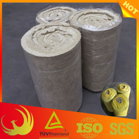 Stone Wool Pipe Insulation Material with Wire Mesh for Pipe pictures & photos