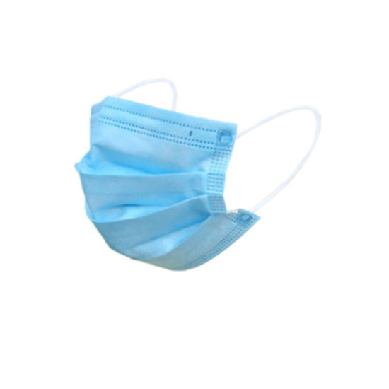 High Quality Ce Earloop 3 Ply Disposable Dental Mouth Mask 3ply Disposable Face Mask