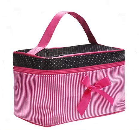 Distributor Large Capacity Portable Girls Makeup Box Multi-Functional Cosmetic Bag