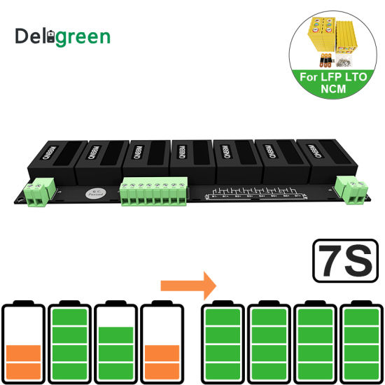 7s Qnbbm Lithium Ion Battery Balancer Li Ion LiFePO for 32700 18650 26650 LG Battery