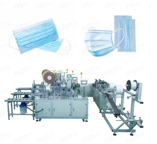 High Speed Full Automatic Face Masks Making Machine Production Line