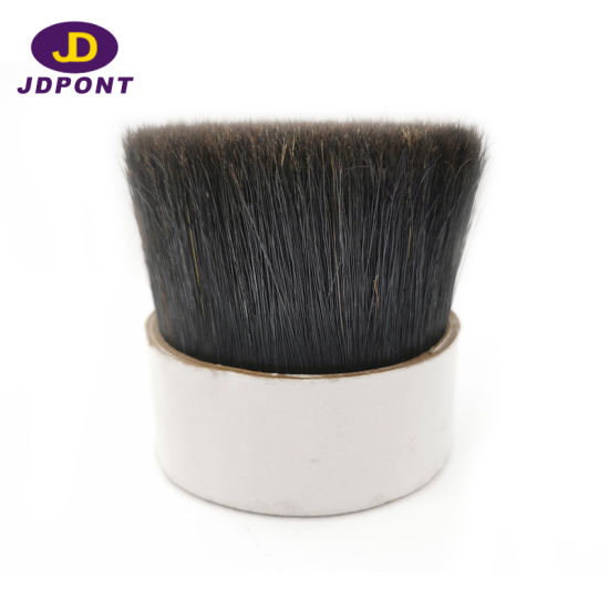 Natural Black Boiled Bristle for Paint Brush Dnbb-70 pictures & photos