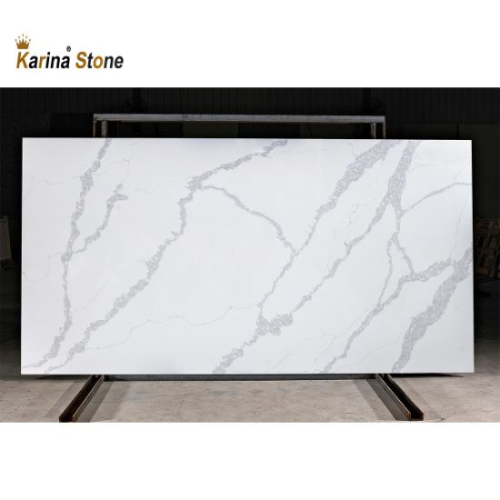 Malaysia Wholesale Factory Calacatta Nuvo Quartz Marble Stone