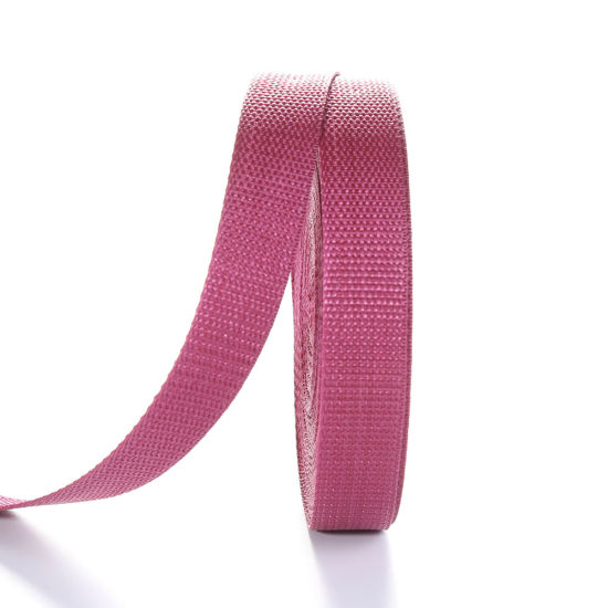 25mm Plain Colored Polypropylene Webbing Fabric Tape Strapping pictures & photos
