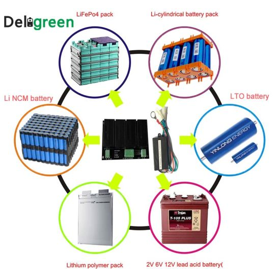 6000AMP Continous Active 4s 12V Lithium Lto Battery Voltage Balancer for  Supercapacitor